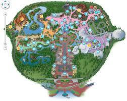 disney park maps still available free customized disney park map
