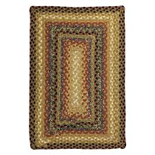 Braided Doormat Cotton Braided Rugs American Country