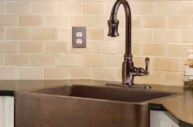 kitchen faucets copper enthralling villa weathered copper kitchen sink faucet throughout