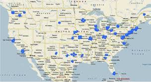 Map Of East Coast Of Usa by Nike Site Locations U0026 Status