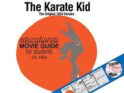 karate kid movie viewing guide travis82 teaching