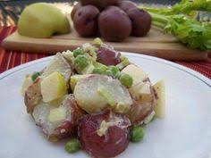 pink parsley grilled potato blt salad with blue cheese dressing
