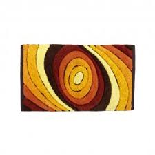 Orange Bathroom Rugs by Modern And Original Bath Mats Made In Italy