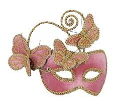 pink mardi gras mask forum mardi gras costume masquerade half mask with