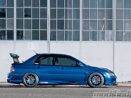 mitsubishi gsr 1 8 turbo 2006 mitsubishi lancer evolution gsr modified magazine