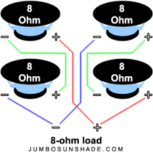 8 ohm wiring diagram 8 ohm subwoofer wiring u2022 wiring diagrams j