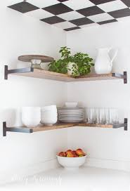 open shelves in the kitchen stacy risenmay