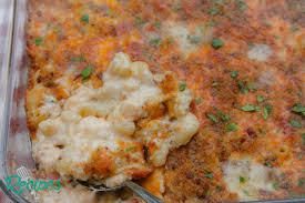 lobster mac and cheese with bacon bread crumbs i heart recipes