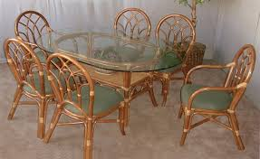 Dining Table With Rattan Chairs Wicker U0026 Rattan Dining Furniture Jaetees Wicker Wicker