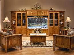 Amish Home Decor Furniture Amish Living Room Entertainment Center Furniture With 3
