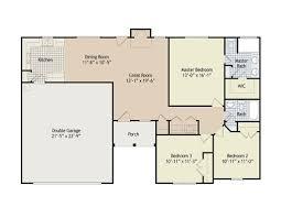 home floor plans north carolina the sanford dunn north carolina home builder hartnett county