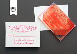 Wedding Invitation Diy Diy Tutorial Neon Kraft Paper Wedding Invitations