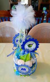 Diaper Cake Centerpieces by 564 Best Diaper Cakes And Other Baby Items Images On Pinterest