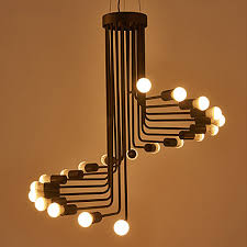 lustre bureau moderne contemporain designers lustre lumière d ambiance pour salle