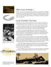 lowe u0027s annual report1963
