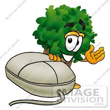 royalty free tree character stock clipart page 1