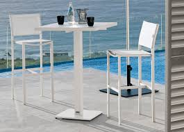 Aluminium Bar Table Manutti Napoli Bar Table Couture Outdoor