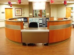 Circular Reception Desk by Unique Reception Desks Unique Reception Stations Unique Concepts