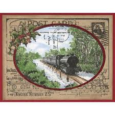 27 best stampendous train postcard images on pinterest christmas