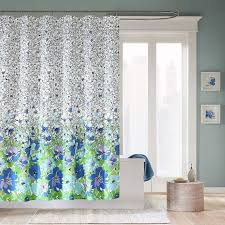 Green And Gray Shower Curtain Awesome Purple And Green Shower Curtain Luxury Bathroom Design