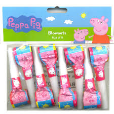 peppa pig party peppa pig party blowers 8 party supplies decorations party