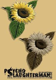 23 best sunflower tattoo realistic images on pinterest leaves