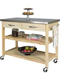 kitchen mobile island kitchen islands carts amazon com