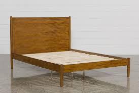 Bedroom Platform Beds Furniture In California Alton Cherry California King Platform Bed Living Spaces