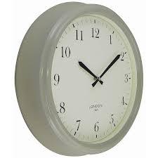 buy john lewis croft tunbridge wall clock putty grey john lewis