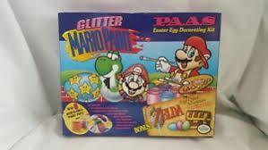 easter egg decorating kits nintendo mario paint link paas easter egg decorating kit