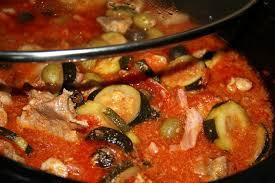 cuisine corse veau aux olives sauté de veau aux olives en mijoteuse autour de ma table