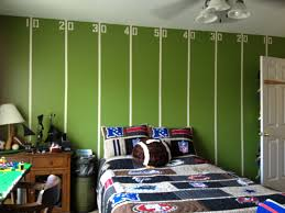 Room Boy My Boys Tween Football Room All For The Boy Pinterest