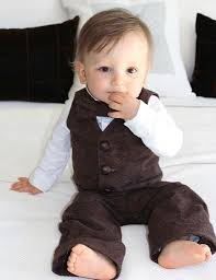 tweed vest set baby boy vest bow tie and trouser baby boy