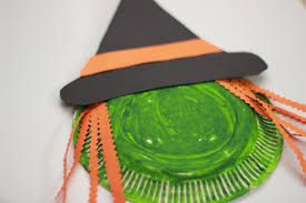 fun paper plate witch halloween craft make and takes