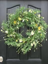 whimsical spring forsythia wreath jenna burger hobby lobby here i come spring wreath summer wreaths daisies