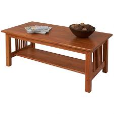 Solid Oak Coffee Table Solid Wood Coffee Tables Mission Furniture Manchesterwood