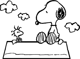 Peanuts Halloween Coloring Pages by Celebrity Image Peanuts Snoopy Woodstock Coloring Page