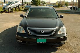 2006 lexus ls430 black sedan used car sale