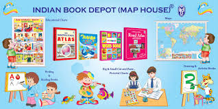 Indian Map Indian Book Depot India Map