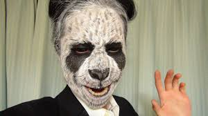panda halloween makeup panda makeup 2 by kisamake on deviantart
