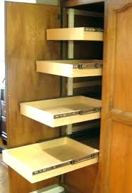 pantry cabinet with drawers pantry cabinet drawer slides kitchen slide sliding drawers for
