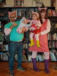 Toddler Pig Costume Halloween Peppa Pig Family Costumes Diy Halloweenie Costumes