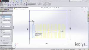 solidworks linear pattern how to use linear pattern in solidworks youtube