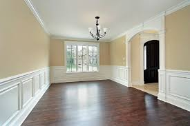 Wainscoting For Dining Room | dining room with custom wainscoting