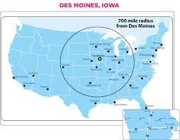 Map Of Des Moines Iowa Hotels U0026 Car Rentals Solheim Cup