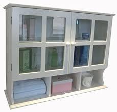 white kitchen wall display cabinets homecharm 31 5x9 6x24 inch wall cabinet white hc 032