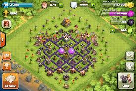 layout coc town hall level 7 defense layouts clash of clans handbook