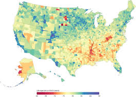 County Map West Virginia by Who Lives Longer Study Finds Colorado Wins By 20 Years Nbc News