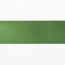 green satin ribbon 7 8 leaf green satin ribbon