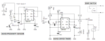 automatic hand dryer circuit